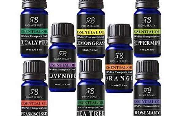 Essential oils sampler kit set of 8
