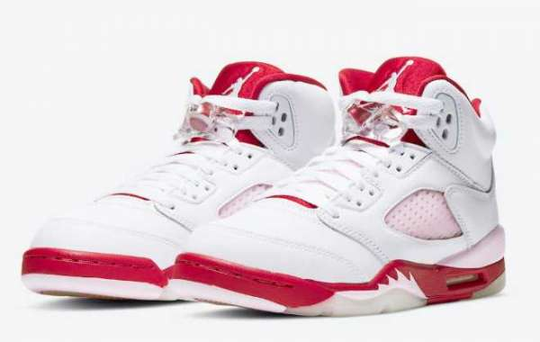 440892-106 Air Jordan 5 Wmns Pink Foam to release on October 9th