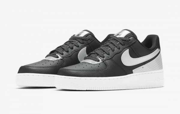 """Brand New 3M x Nike Air Force 1 Low """"Black Reflect"""" CT1992-001"""