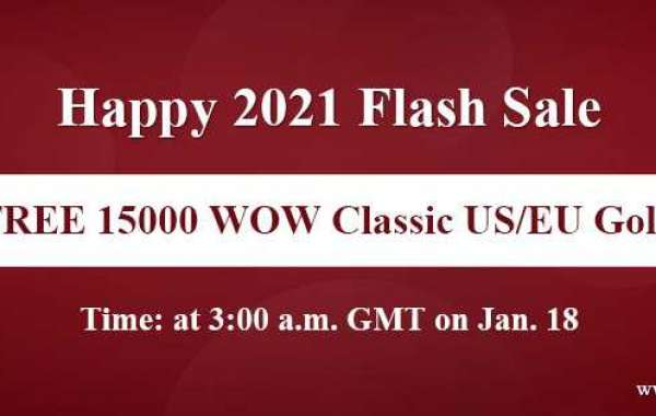 100% Free cheapest wow classic gold us on WOWclassicgp Happy 2021 Flash Sale for you