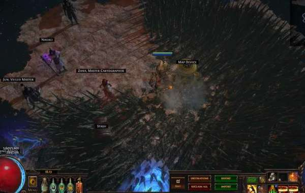 Passive skill tree contributes a lot to the development of Path of Exile