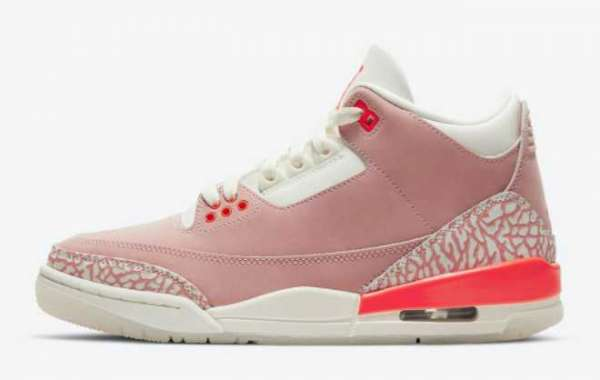 "Air Jordan 3 WMNS ""Rust Pink"" to release during Spring 2021"