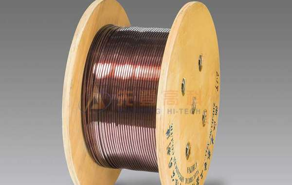 Rectangular Enameled Aluminum Wire Has Good Heat Resistance And Chemical Resistance